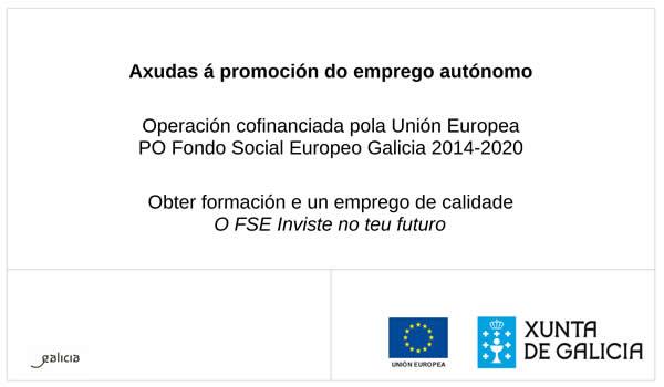 Proxecto cofinanciado pola Xunta de Galicia