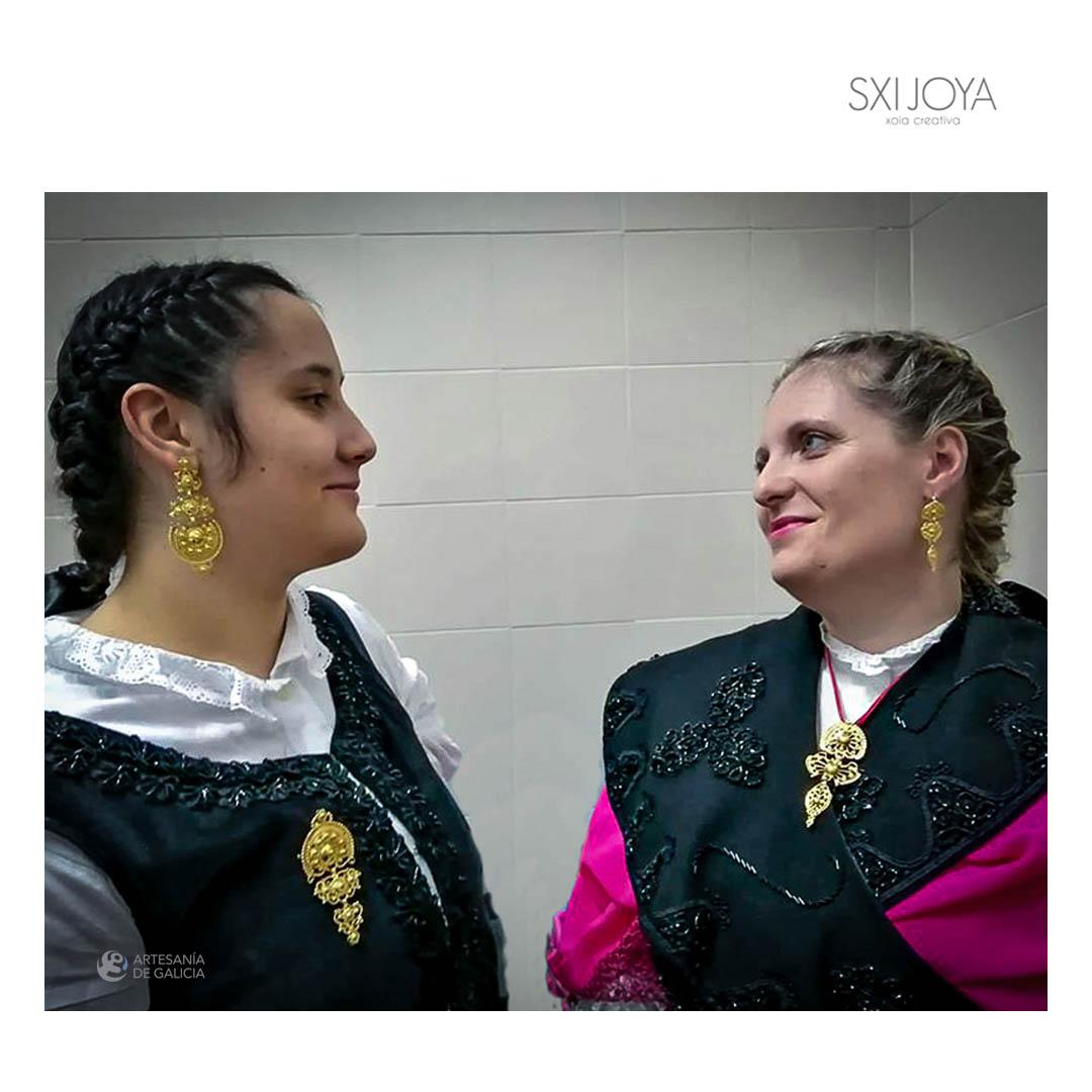 joyería tradicional gallega desfile
